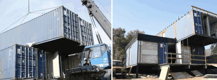 Construcci n de una casa en un contenedor mar timo - Transformar contenedor maritimo vivienda ...