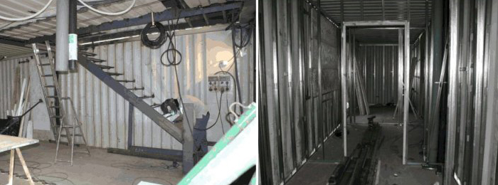 Construcci n de una casa en un contenedor mar timo - Precio contenedores maritimos ...